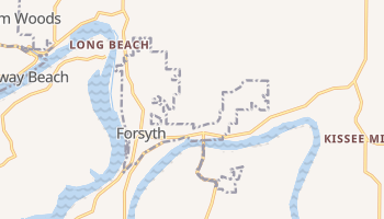 Forsyth, Missouri map
