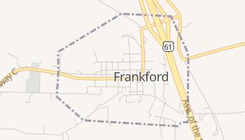 Frankford, Missouri map
