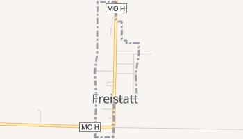 Freistatt, Missouri map