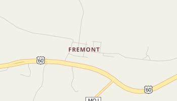 Fremont, Missouri map