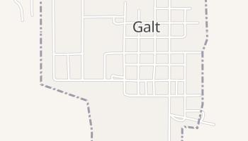 Galt, Missouri map