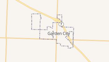 Garden City, Missouri map