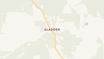Gladden, Missouri map