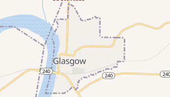 Glasgow, Missouri map