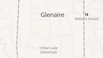 Glenaire, Missouri map
