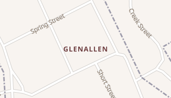 Glenallen, Missouri map