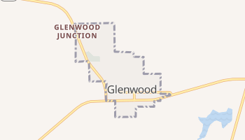 Glenwood, Missouri map