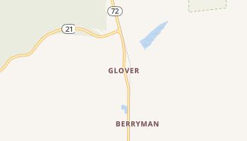 Glover, Missouri map