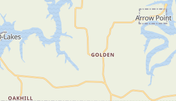 Golden, Missouri map