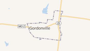 Gordonville, Missouri map