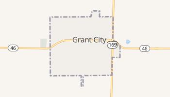 Grant City, Missouri map