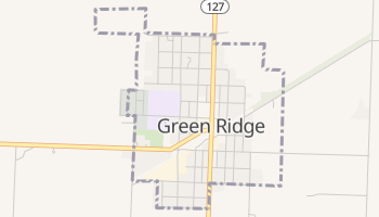 Green Ridge, Missouri map