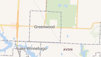 Greenwood, Missouri map