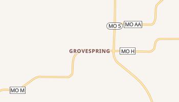 Grovespring, Missouri map
