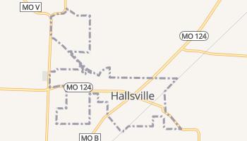 Hallsville, Missouri map