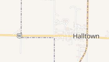 Halltown, Missouri map