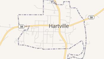 Hartville, Missouri map