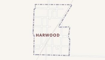 Harwood, Missouri map