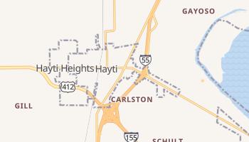 Hayti, Missouri map