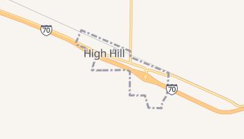 High Hill, Missouri map