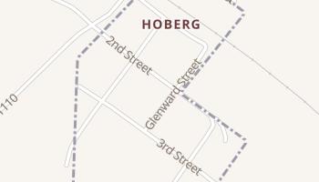 Hoberg, Missouri map