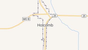Holcomb, Missouri map
