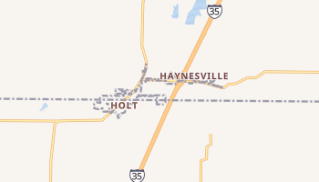 Holt, Missouri map