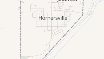 Hornersville, Missouri map
