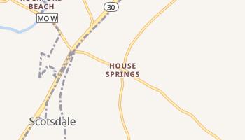 House Springs, Missouri map