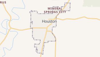 Houston, Missouri map