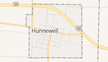 Hunnewell, Missouri map