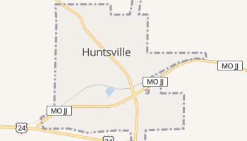 Huntsville, Missouri map