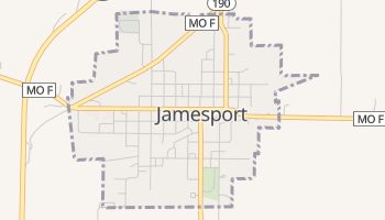 Jamesport, Missouri map