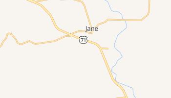 Jane, Missouri map
