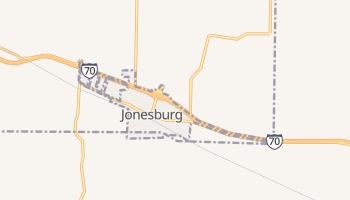 Jonesburg, Missouri map