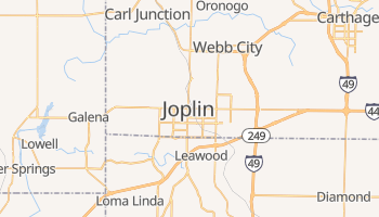 Joplin, Missouri map