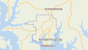 Kimberling City, Missouri map