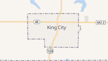 King City, Missouri map