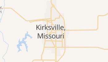 Kirksville, Missouri map