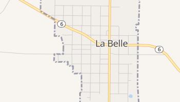 La Belle, Missouri map