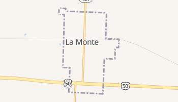 La Monte, Missouri map