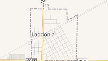 Laddonia, Missouri map