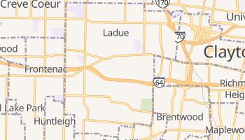 Ladue, Missouri map
