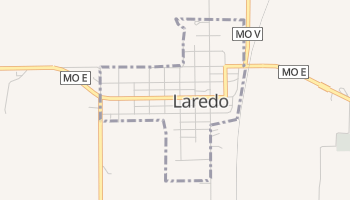 Laredo, Missouri map