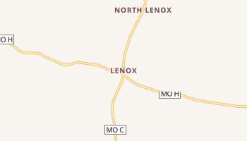 Lenox, Missouri map