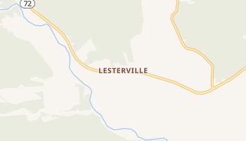 Lesterville, Missouri map