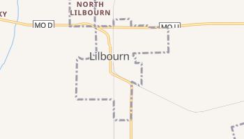 Lilbourn, Missouri map
