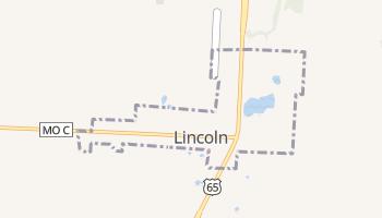 Lincoln, Missouri map