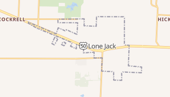 Lone Jack, Missouri map