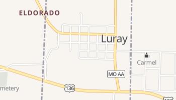 Luray, Missouri map